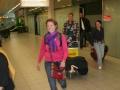Aankomst op Schiphol